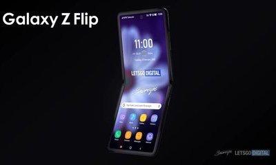 Video: Cận cảnh chiếc Galaxy Z Flip (Galaxy Fold 2) sắp ra mắt của Samsung
