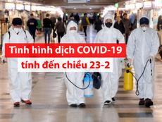Toàn cảnh dịch COVID-19 ngày 23-2