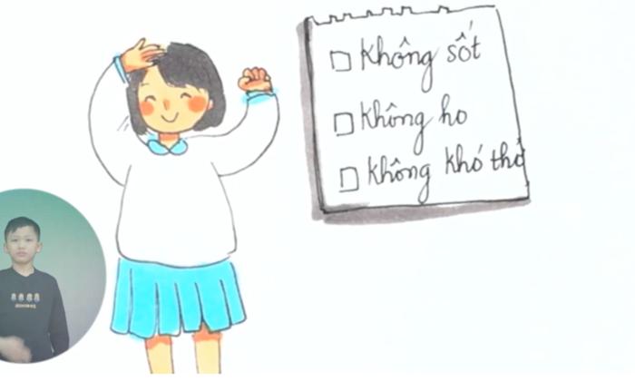 Video: Khuyến cáo phòng, chống dịch Covid-19 cho trẻ em Việt Nam