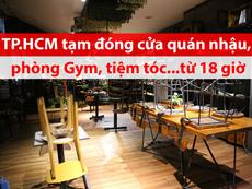 Video: Toàn cảnh TP.HCM đóng cửa hàng quán để chống COVID-1