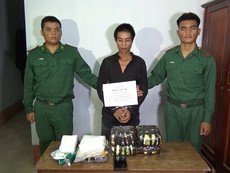 Biên phòng Kon Tum phá đường dây ma túy lớn
