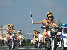 Ra mắt đội hình 58 nữ CSGT dẫn đoàn đầu tiên ở TP.HCM