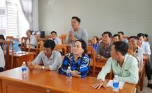 Chủ tịch tỉnh Cà Mau gặp nông dân bị trộm hàng tấn tôm