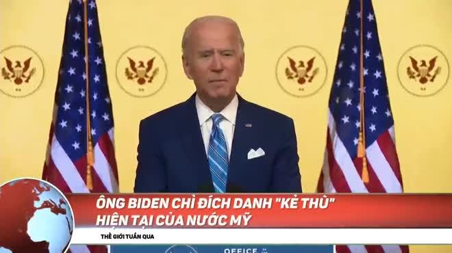 NÓNG nhất tuần: Ông Biden xác định