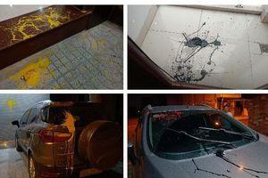 Thanh Hóa: Một Nhà báo liên tục bị ném chất bẩn vào nhà