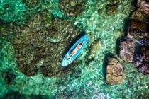 Mặt biển trong vắt ở thành phố đảo Phú Quốc