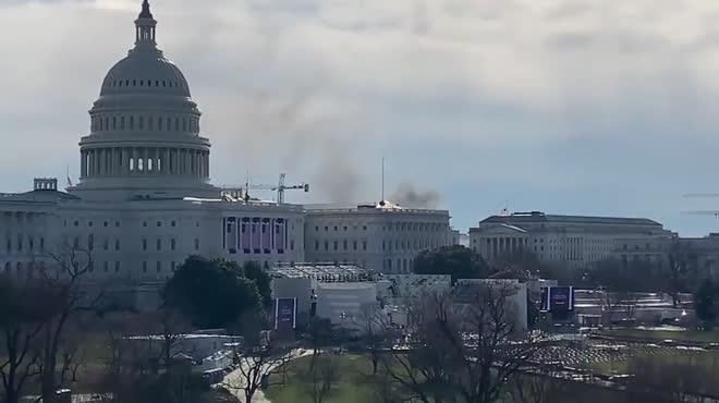 Tòa nhà Quốc hội Mỹ bị phong tỏa