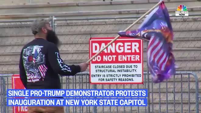 Người ủng hộ ông Trump dọa làm loạn lễ nhậm chức, vì sao đến ngày lại