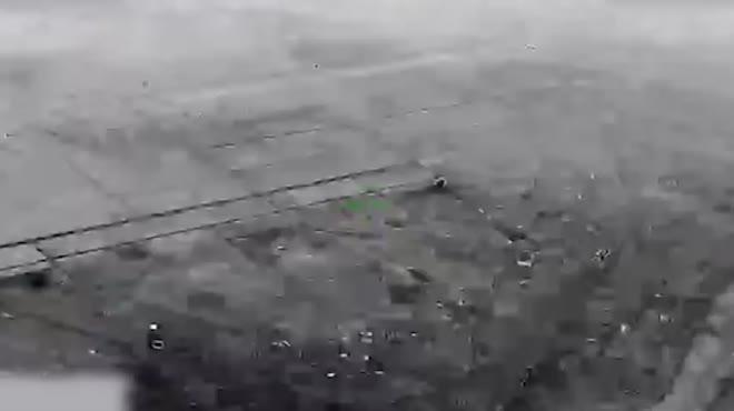 Video chưa từng công bố về loạt tên lửa đạn đạo Iran dội xuống căn cứ quân sự Mỹ ở Iraq