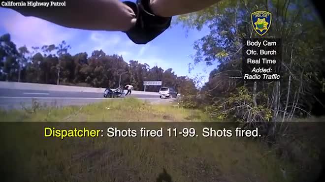 Nghi phạm nã đạn định cướp xe bỏ trốn, cảnh sát rút súng bắn chết tại trận