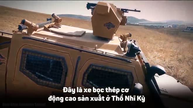 5 xe bọc thép quân sự cơ động hàng đầu trên thế giới