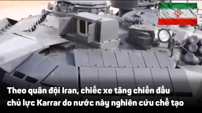 Chiến tăng chủ lực có sức mạnh không thể xem thường của quân đội Iran