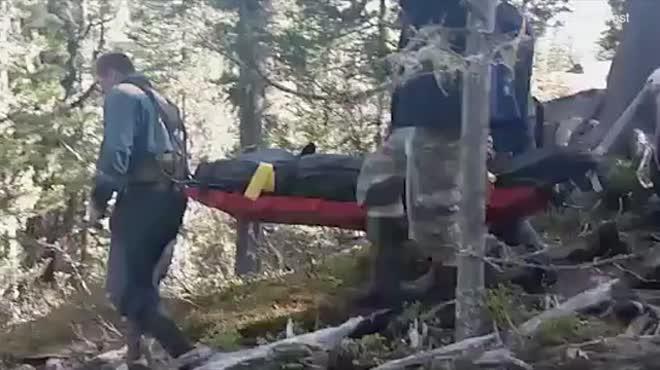 Nga: Thấy người ra khỏi trại lâu không về, nhóm du khách đi tìm, gặp cảnh kinh hoàng