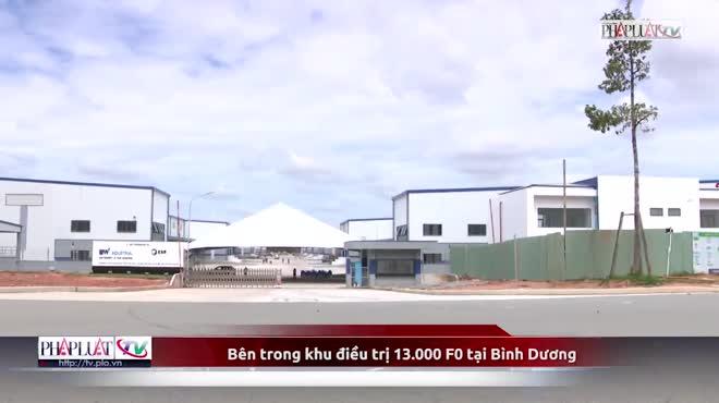 Video: Bên trong khu điều trị 13.000 F0 tại Bình Dương